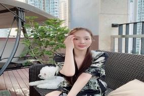박민영, 반려견과 함께 시원한 일상 공개
