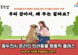 아이해듀, '2020 동두천시 온라인 반려동물 문화교실' 진행