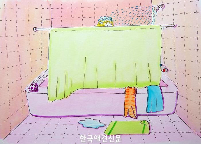 나도 샤워하고싶다옹.jpg